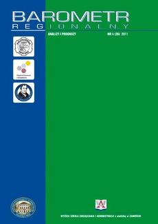 Barometr Regionalny. Analizy i Prognozy. Nr 4(26)