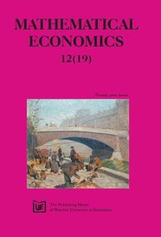 Mathematical Economics 12(19)