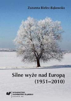 Silne wyże nad Europą (1951–2010)