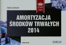 Amortyzacja środków trwałych 2014
