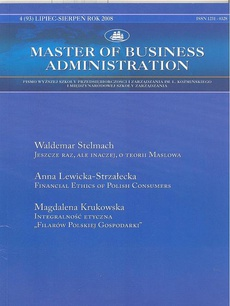Master of Business Administration - 2008 - 4