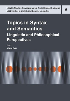 Topics in Syntax and Semantics