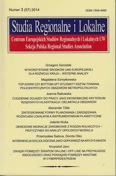 Studia Regionalne i Lokalne nr 3(57)2014