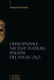 Deissi spaziale nei testi teatrali italiani del XVI secolo