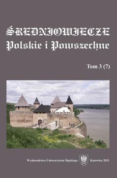 """""""Średniowiecze Polskie i Powszechne"""". T. 3 (7) - 04 Wołodysław Opols´kyj w ocinci M. Hruszews´koho"""