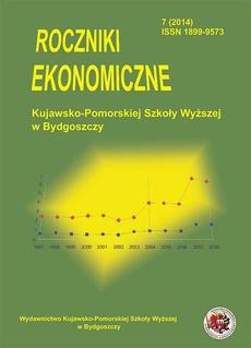 Roczniki Ekonomiczne Kujawsko-Pomorskiej Szkoły Wyższej w Bydgoszczy