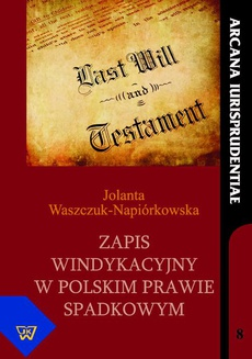 Zapis windykacyjny w polskim prawie spadkowym