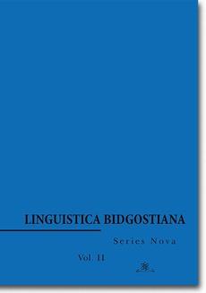 Linguistica Bidgostiana. Series nova. Vol. 2