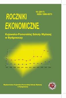 Roczniki Ekonomiczne Kujawsko-Pomorskiej Szkoły Wyższej w Bydgoszczy 10 (2017)