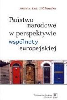 Państwo narodowe w perspektywie wspólnoty europejskiej
