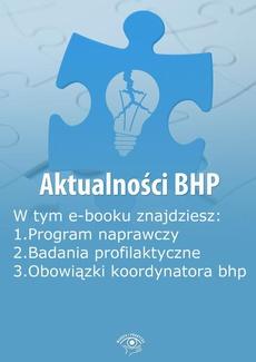 Aktualności BHP, wydanie maj 2014 r.