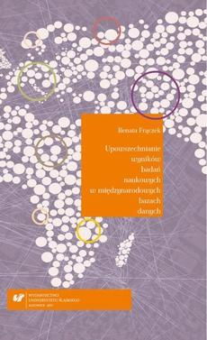 Upowszechnianie wyników badań naukowych w międzynarodowych bazach danych. Analiza bibliometryczna na przykładzie nauk technicznych, ze szczególnym uwzględnieniem elektrotechniki - 01 Metody ilościowe – wybrane zagadnienia