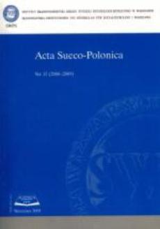 Acta Sueco-Polonica nr 15 (2008-2009)
