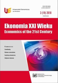 Ekonomia XXI Wieku 3(19)