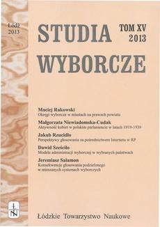 Studia Wyborcze t. 15