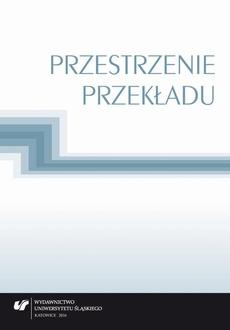 Przestrzenie przekładu - 16 Rodzaje kontratypów w polskim prawie karnymi specyfika ich przekładu na język rosyjski