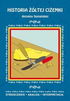 Historia żółtej ciżemki Antoniny Domańskiej. Streszczenie, analiza, interpretacja