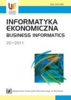 Informatyka Ekonomiczna 20