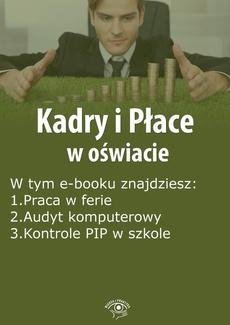 Kadry i Płace w oświacie, wydanie kwiecień 2016 r.