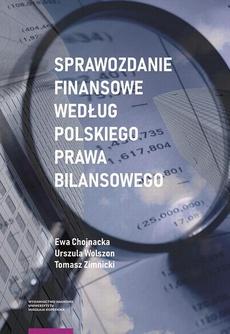 Sprawozdanie finansowe według polskiego prawa bilansowego