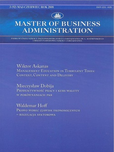Master of Business Administration - 2008 - 3