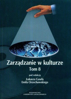 Zarządzanie w kulturze, t. 8