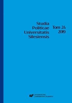 """""""Studia Politicae Universitatis Silesiensis"""". T. 24"""