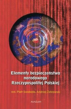 Elementy bezpieczeństwa narodowego Rzeczypospolitej Polskiej