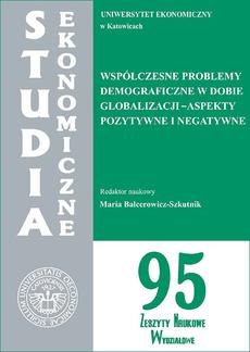 Współczesne problemy demograficzne w dobie globalizacji - aspekty pozytywne i negatywne. SE 95