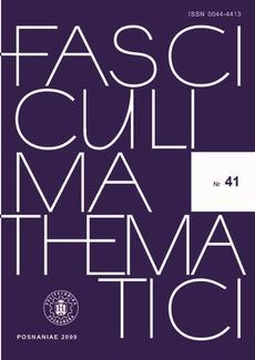 Fasciculi Mathematici, 2009/41