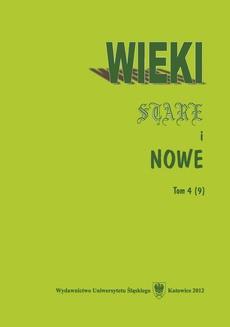 Wieki Stare i Nowe. T. 4 (9) - 12 Prasa krakowska wobec konferencji w Monachium (1938)