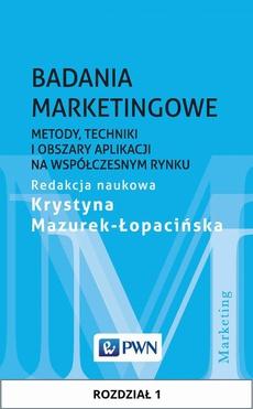 Badania marketingowe. Rozdział 1