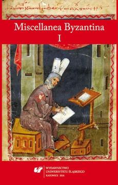 Miscellanea Byzantina I - 05 ???????????? ???? – rozprawa gramatyczna przypisywana Teodorowi Prodromosowi i jej adresat