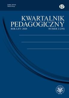 Kwartalnik Pedagogiczny 2020/2 (256)
