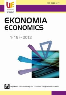 Ekonomia 1(18) 2012