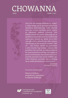 """""""Chowanna"""" 2016. T. 2 (47) - 06 Samokształtowanie człowieka jako wartość poznawcza pedagogiki ogólnej"""