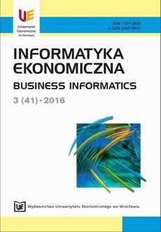 Informatyka Ekonomiczna 3(41)