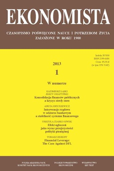 Ekonomista 2013 nr 1