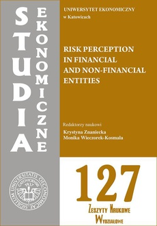 Risk perception in financial and non-financial entities. SE 127