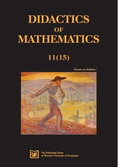 Didactics of Mathematics, nr 11(15)