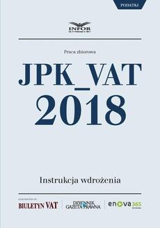 JPK_VAT 2018. Instrukcja wdrożenia