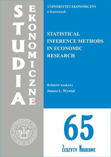 Statistical Inference Methods in Economic Research. SE 65