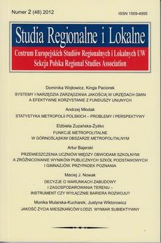 Studia Regionalne i Lokalne nr 2(48)/2012