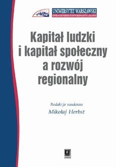 Kapitał ludzki i kapitał społeczny a rozwój regionalny