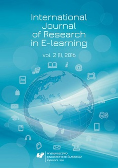 """""""International Journal of Research in E-learning"""" 2016. Vol. 2 (1)"""