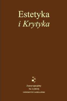 Estetyka i Krytyka Numer specjalny (nr 2/2010)