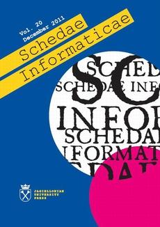 Schedae Informaticae vol. 20 December 2011