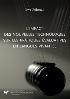 L'impact des nouvelles technologies sur les pratiques évaluatives en langues vivantes - 01 Rozdz. 1-2. Délimitation des concepts de base; Traitement des productions des apprenants