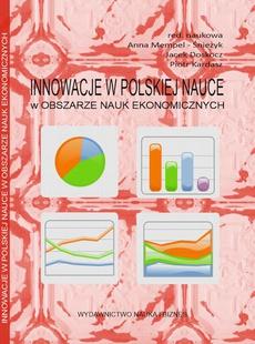 Innowacje w polskiej nauce w obszarze nauk ekonomicznych
