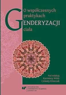 O współczesnych praktykach genderyzacji ciała - 08 Konsumowanie żywności i zachowania żywieniowe w kontekście płci kulturowej